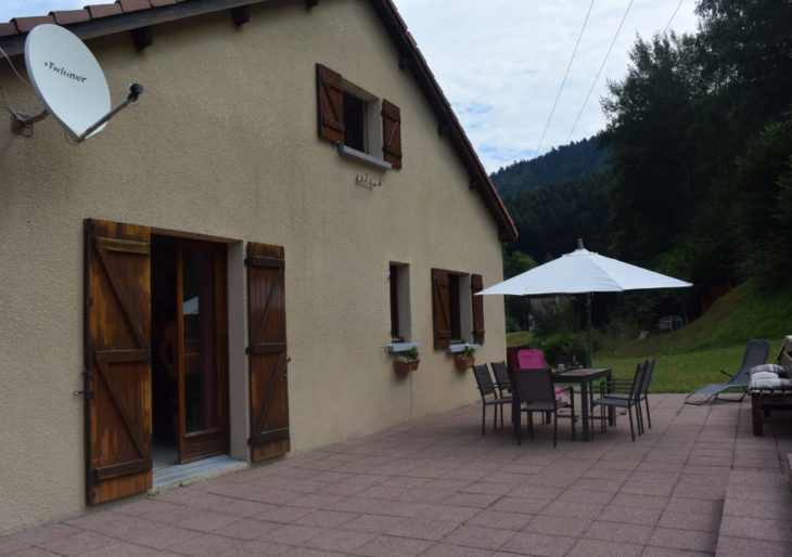LA BRESSE !  Maison 3 chbres offrant GDE TERRASSE BIEN EXPOSEE ! - MA2230AC
