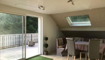 RESERVATION EN COURS : LA BRESSE, BEL appartement de 81m² – 2 chbres – CHEMINEE-TERRASSE- Parking et Cave