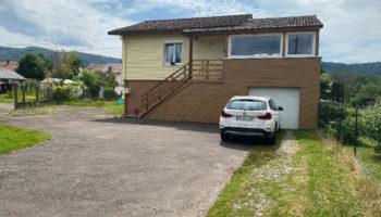 EXCLUSIF !IDEAL PROJET LOCATIF l Maison Louée 550euros/mois , 3 chbres, garage proche centre THILLOT !